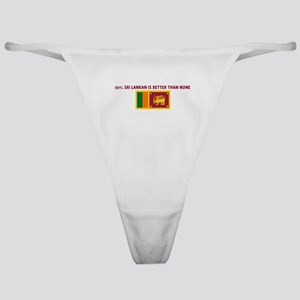50 PERCENT SRI LANKAN IS BETT Classic Thong