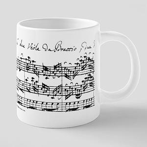 Bach's Brandenburg 6 Co Stainless Steel Travel Mug