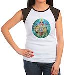 Durga Women's Cap Sleeve T-Shirt