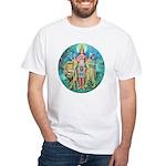 Durga White T-Shirt