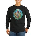 Durga Long Sleeve Dark T-Shirt