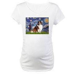 Starry Night / Sheltie (s&w) Shirt