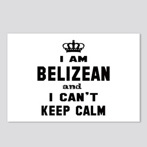 I am Belizean and I can' Postcards (Package of 8)