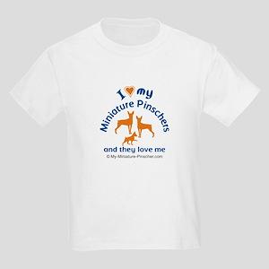 Kids Miniature Pincher Light T-Shirt