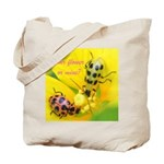 Your flower or mine? Tote Bag