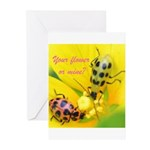Your flower or mine? Greeting Cards (Pk of 10)