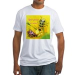 Your flower or mine? Fitted T-Shirt