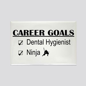 Dental Hygienist Career Goals Rectangle Magnet