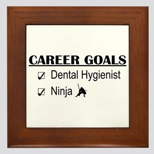 Dental Hygienist Career Goals Framed Tile