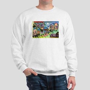 San Antonio Texas Greetings (Front) Sweatshirt