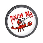 Pinch Me Wall Clock
