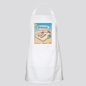Pig Bacon Sunscreen BBQ Apron
