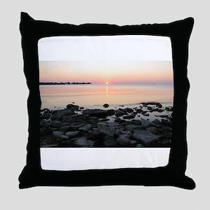 Door County - Egg Harbor 2 Throw Pillow