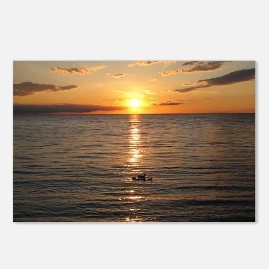 Egg Harbor - Door County 3 Postcards (Package of 8
