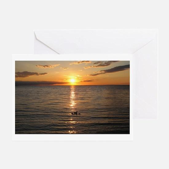 Egg Harbor - Door County 3 Greeting Card