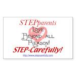 Love Rectangle Sticker