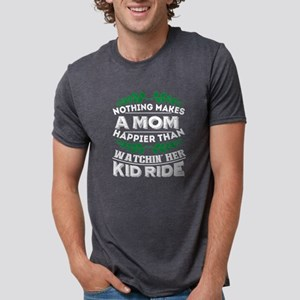 A Mom Happier Than Watching Her Kid Ride T T-Shirt