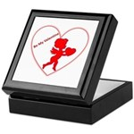 Be My Valentine Cupid Keepsake Box