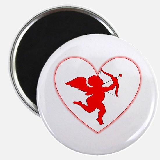"Cupis's Arrow Valentine 2.25"" Magnet (10 pack)"
