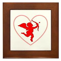 Cupis's Arrow Valentine Framed Tile