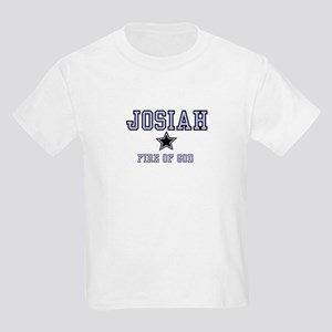 Name Team - Josiah Kids Light T-Shirt