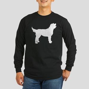 Labradoodle Long Sleeve Dark T-Shirt
