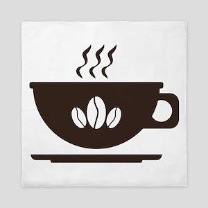 Cup of coffee Queen Duvet