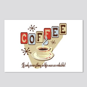 Reliable Coffee Postcards (Package of 8)