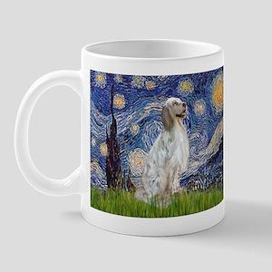 English Setter / Starry Night Mug