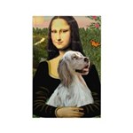 Mona's English Setter Rectangle Magnet