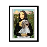 Mona's English Setter Framed Panel Print