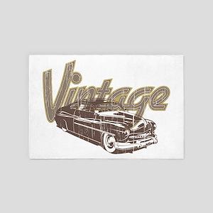Vintage Car 4' x 6' Rug