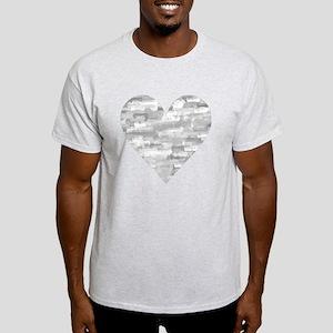 Gray Heart T-Shirt