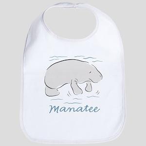 Manatee Baby Bib