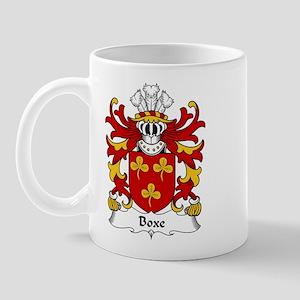 Boxe Family Crest Mug