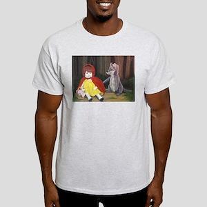 Moonlight Fantasies Red Riding H Ash Grey T-Shirt