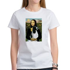 Mona Lisa/English Springer Women's T-Shirt