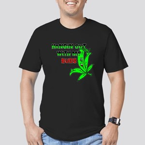 WEED ART FUNNY HANGIN WITH MY BUDS T-Shirt