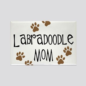 Labradoodle Mom Rectangle Magnet