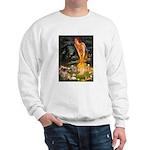 Fairies / Tibetan Spaniel Sweatshirt