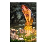 Fairies / Tibetan Spaniel Postcards (Package of 8)