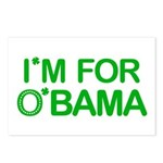 I'm For O'bama Postcards (Package of 8)