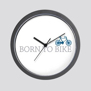 Born to Bike Wall Clock