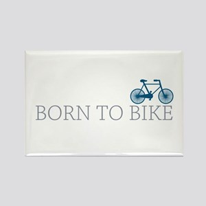 Born to Bike Rectangle Magnet