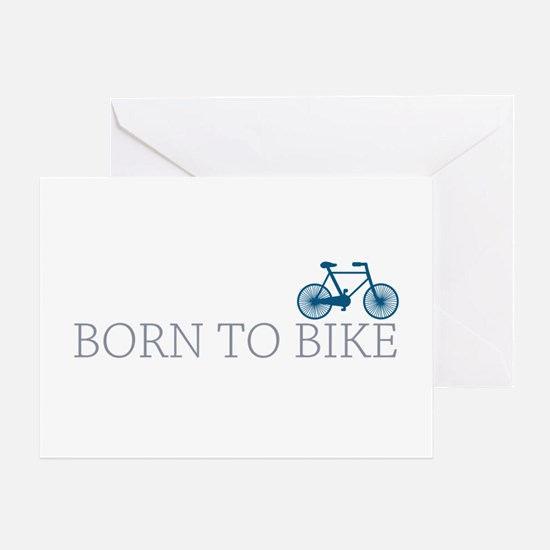 Born to Bike Greeting Card