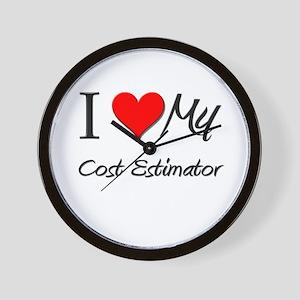 I Heart My Cost Estimator Wall Clock