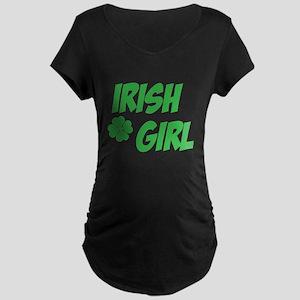 Irish Girl Maternity T-Shirt