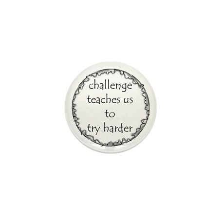 Challenge Mini Button (10 pack)