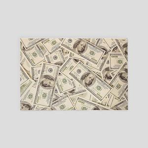 Dollar Bills 4' x 6' Rug