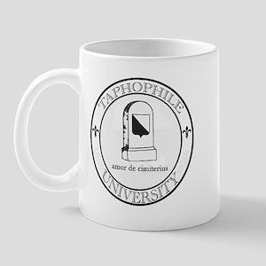 Taphophile University Mug